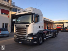 Scania R 490 truck used hook lift