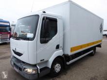 Renault Midlum truck damaged tautliner