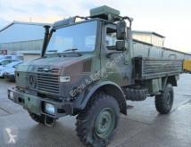 Camión caja abierta teleros Unimog U 1300 L 435 4X4 2t KLIMA *-OLDTIMER-* AHK