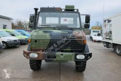 Camion Unimog U 1300 L 435 4X4 2t KLIMA *-OLDTIMER-* AHK plateau ridelles occasion