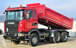 Teherautó Scania G480 Kipper 5,00m + Bordmatic *6x4*Topzustand! használt billenőkocsi
