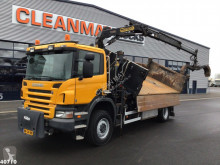 Scania P 340 truck used container