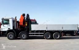 Mercedes 4141 PALFINGER 72002 + JIB truck used flatbed