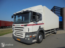 Camião Scania P230 Closed Box / Opticruse / Euro 5 / NL Truck furgão usado