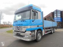 Camion platformă Mercedes Actros 2540 / Crane / EPS Semi / Retarder / Euro 2