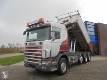 Camion Scania 164G480 V8 / 8x4 / Tipper / Full Steel / Manual benă second-hand