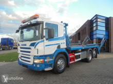 Vrachtwagen containersysteem Scania P270 / Container System / Manual / Euro 4 / 820.000 KM
