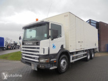 Kamión dodávka Scania 114.340 6X4 / Full Steel / Manual / Euro 2 / Box