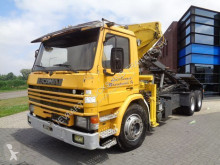 Kamión korba Scania P92.320 Tipper / Crane / Full Steel / Manual / 6x2 / Euro 2