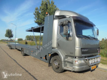 Camion porte voitures DAF LF22.250 Cartransport / Tijhof / Car Lift + Trailer / NL