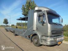 DAF car carrier truck LF22.250 Cartransport / Tijhof / Car Lift + Trailer / NL