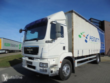 Camion rideaux coulissants (plsc) MAN TGM 18.240 Curtainside / Manual / Euro 5 / 2T Loading PLatform