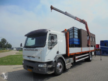 Renault Premium 340 / Platform / Effer 170 Crane / NL Truck / Manual truck used