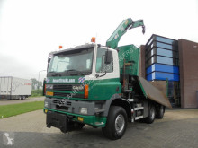 Camion Ginaf M3333-S / 6X6 / Tipper / Crane / NL Truck ribaltabile usato
