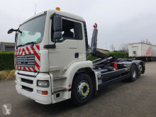 MAN TGA 26.350 truck used hook arm system
