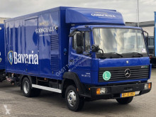 Mercedes trailer truck used mono temperature refrigerated