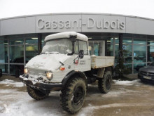 Unimog U406 truck used three-way side tipper