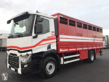 Camion Renault Gamme C 520 remorcă transport animale second-hand