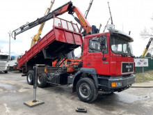 MAN 27.343 + Palfinger PK19000 C - 4x + Radio - TIPPER - STEEL SPRING - BIG AXLES - LAMES REDUCTEURS truck used tipper