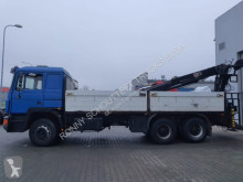 MAN - 26.402 6x4 SHD truck used flatbed