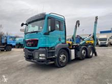 MAN skip truck TG-S 26.400 6x2 4 BLS Absetzkipper Gergen Tele