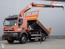 Vrachtwagen platte bak Renault Kerax 320