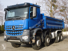 Mercedes three-way side tipper truck Arocs 4145 8x6 EURO6 Dreiseitenkipper TOP!