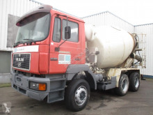 MAN 27.293 , , concrete mixer , ZF Manual , Sping suspension truck used concrete mixer