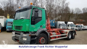 Iveco hook lift truck Stralis 260S42,Euro5,org 372TKM,Palfinger,1 Hd Dfzg.