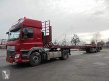 DAF CF 440 tractor-trailer used flatbed