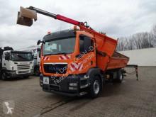 Camion MAN TGS 18.320 Kipper Kran 4x2 mit Greifer