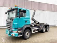 Scania R500 CB 6x4 HHZ R500 CB 6x4 HHZ, Retarder, V8-Motor, Winterdienstausrüstung truck used hook arm system