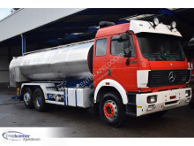 Mercedes 2550 V8, Steel springs + Reduction axle, EPS, 13700 liter, Truckcenter Apeldoorn truck used tanker