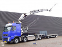 Volvo flatbed trailer truck FH