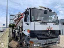 Camion béton malaxeur + pompe Mercedes Actros