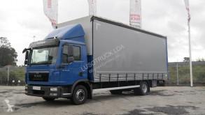 MAN TGL 12.220 truck used tautliner