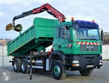 Camion benne MAN TGA 26.350 Kipper 5,20 m + Kran 6x4 Top Zustand