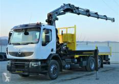 Camion plateau Renault Premium 370 DXI Pritsche 6,30m+Kran/Funk*