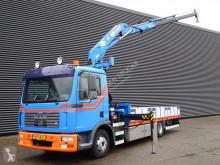 Camião MAN TGL 12.210 estrado / caixa aberta usado