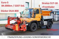 Unimog three-way side tipper truck U400 Kipper+Böschungsmäher+Frontl