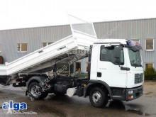 Camión MAN 12.210 TGL BB 4x2, Meiller, 2x AHK, 3. Sitz volquete volquete trilateral usado