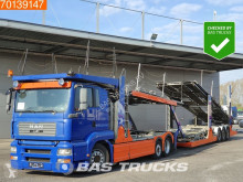 MAN car carrier trailer truck TGA 18.440