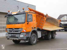 Camion Mercedes Actros 3346 AK 6x6 3-Achs Allradkipper Bordmatik benne occasion