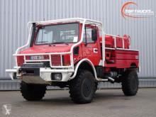 Camion pompiers Mercedes Unimog 1550L37 Unimog U1550 L (437) Benz, SIDES CCF2000 ltr. - Expeditievoertuig, Camper