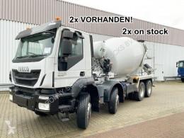 Lastbil betong blandare Trakker AD340T40B 8x4 Trakker AD340T40B 8x4 Stetter 9m³, Rechtslenker, 3x Vorhanden!