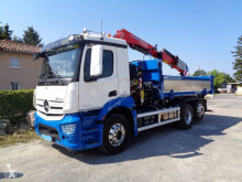 Mercedes Antos 2540 L truck used two-way side tipper