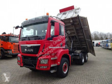 Camión MAN TGS 26.440 3x Kipper 6x4 volquete trilateral usado