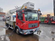 MAN aerial platform truck