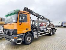 Mercedes Actros 2540 6x2 2540 6x2, Lenk-/Liftachse, Retarder, Kran Jonsered 1020 truck used tipper