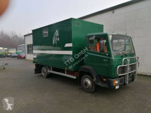 Mercedes 814 truck used livestock trailer